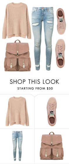 """""""#SM13"""" by sereiamonstro ❤ liked on Polyvore featuring MANGO, Puma and Off-White"""