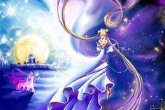 Keeper of life by vopoha.deviantart.com on @deviantART Sailor moon. Serena. Sailor scouts. Princess Serena. Anime. Love. Girls.