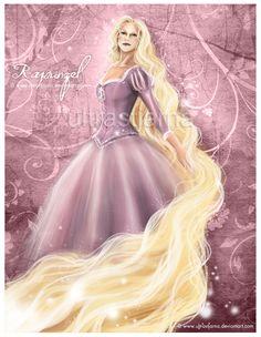 Princess Rapunzel by ultrastjarna on deviantART