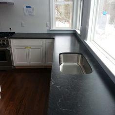 Counter Option   Jet Mist Honed Granite
