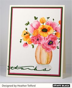 New Centrepiece stamp by Penny Black