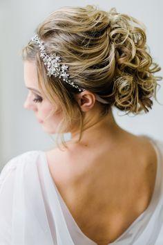 Bruidskapsel met krullen | ThePerfectWedding.nl