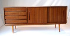 Beautiful new Mid Century Danish Style Sideboard. $890.00, via Etsy.