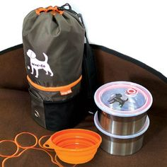 Wag N Go is a dog travel bag and kit that makes it quick and easy to pack up and carry your dog's essential items when travelling.
