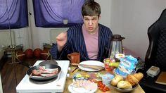 German Breakfast | MukBang Deutsch English [Live Twitch] eatingshow HTLL