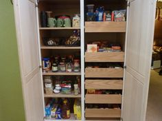 This is an idea for our pantry.