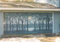 3d garage door murals | mural desert on particular garage door