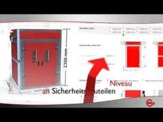GEBHARDT Conver Güteraufzug Lastenaufzug - YouTube