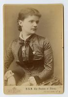 Vintage Cabinet Card Princess Helena of Waldeck and Pyrmont Duchess of Albany