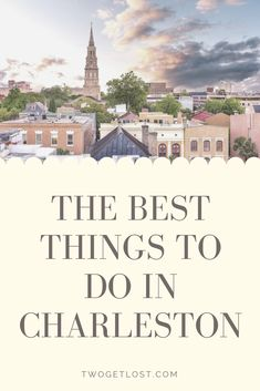 The best things to do in Charleston SC. We've put together all the top things to do in this incredible city - from horse-drawn carriage rides to ghost walks, this is a city that really does have something for everyone. #charleston #southcarolina #travel #travelguide #america Best Countries To Visit, Ghost Walk, Travel Destinations, Winter Destinations, Christmas Travel, Horse Drawn, Best Places To Travel, Winter Travel, Charleston Sc