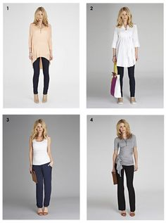 Casual Chic Maternity Fashion #maternity