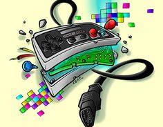 "Check out new work on my @Behance portfolio: ""nintendo joypad"" http://be.net/gallery/33752390/nintendo-joypad"