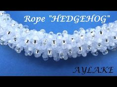 "I will show you how to do beaded rope ""Hedgehog"" Its maybe little bit confusing but still simple. Just look and follow step by step."
