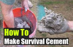 How To Make Survival Cement - SHTF Preparedness