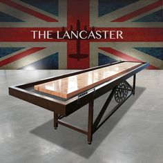 Find your perfect Lancester Shuffleboard Table Customised Length for your home games room, office space or home decor. Contemporary Games, Shuffleboard Table, Air Hockey, Ping Pong Table, Game Room, Bobs, Basement, Tables, Inspiration