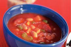 Kijk wat een lekker recept ik heb gevonden op Allerhande! Spaanse maaltijdsoep