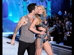 Maroon 5 Moves Like Jagger / Victoria's Secret Fashion Show 2015 Live Performance - YouTube