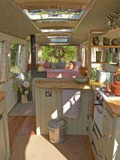 Best rvs and camper van interior design ideas (17)