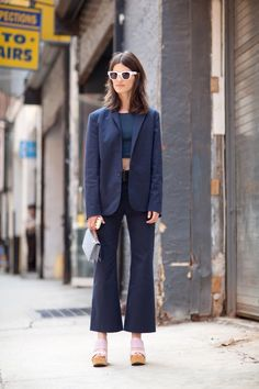 cropped pants #streetstyle