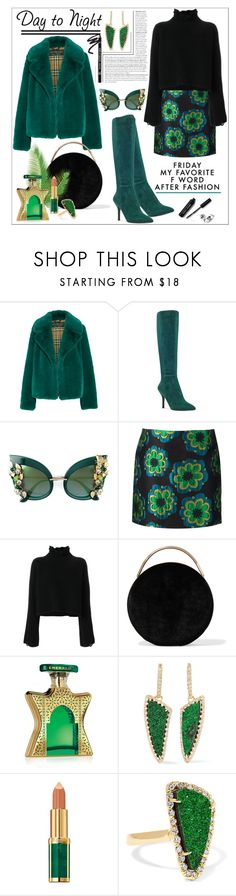 """Friday....."" by nihal-imsk-cam ❤ liked on Polyvore featuring Burberry, Nine West, Dolce&Gabbana, SUNO New York, Golden Goose, Eddie Borgo, Bond No. 9, Kimberly McDonald, Balmain and Bobbi Brown Cosmetics"