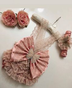 Items similar to Baby photo prop, its a girl, baby girl outfit, new born outfit on Etsy Un abito (noto anche come abito. Baby Dress Design, Baby Couture, Little Girl Fashion, Newborn Gifts, Cute Baby Clothes, Baby Girl Dresses, Baby Sewing, Kids Outfits, Handmade
