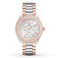 Reloj Bulova para mujer modelo 98N100 Ideal para lucir. Elegant/Sport.