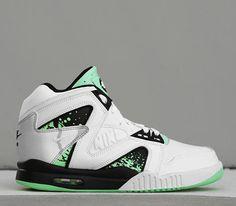 online store 64140 6368c Nike Air Tech Challenge Hybrid – Green Glow Cheap Nike Air Max, Nike Shoes  Cheap