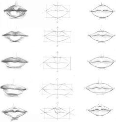 elementary school how to draw the mouth - Google Search