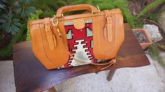 Reserved Vintage Tan Leather Carry On by TheLionsDenStudio on Etsy, $225.16