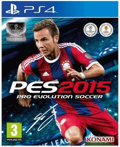 Pro Evolution Soccer 2015 - PlayStation 3 by Konami, Latest Video Games, Video Games Xbox, Xbox One Games, Ps4 Games, Games Consoles, Playstation Games, Jeux Xbox One, Xbox 1, Pro Evolution Soccer 2015