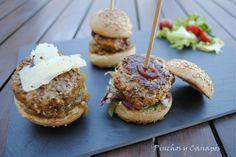 Mini hamburguesas de #foie fresco y #jamón de #pato. Sin más! #deliciosas