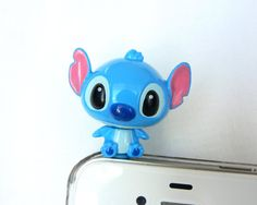 3D Disney Lilo and Stitch Cell Phone AntiDust Plugs by POPStation, $10.00