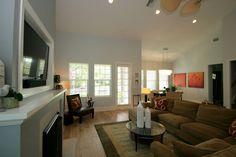 Open Concept Great Room, custom home by Homeworks Builders, #Livingrooms #Luxuryhomes #realesate @FadalRealEstateGroup