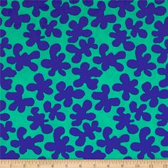 Artisan by Kaffe Fasset Squiggle Green from @fabricdotcom  Designed by Kaffe Fassett for Free Spirit Fabrics, this premium 100% cotton print fabric features trendy, modern designs. Artisan features the bold colors Kaffe is known for, with a bohemian edge that will speak to both modern and traditional quilters alike. Colors include blue and green.