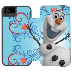 Olaf with Heart Frame Incipio Watson™ iPhone 5 Wallet Case snowman disney snowman disney frozen frozen disney frozen olaf olaf frozen olaf olaf the snowman walt disney frozen walt disney animation studios disney princess the snow queen