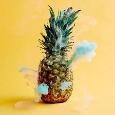Smoke-Filled Fruits and Vegetables – Fubiz Media