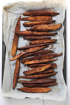 Cinnamon Roasted Sweet Potato  @The Healthy Chef