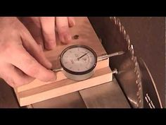 How to capture table saw blade angles - YouTube