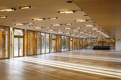 Ampliación de hipódromo Longchamp, Paris, Francia - Dominique Perrault Architecture - © Vincent Fillon