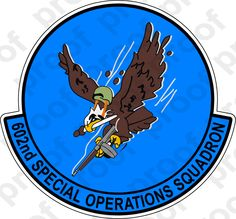 M.C. Graphic Decals - STICKER USAF 602ND SPECIAL OPERATIONS SQUADRON, $3.00 (http://www.mcgraphicdecals.com/sticker-usaf-602nd-special-operations-squadron/)