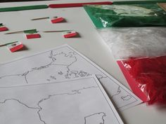 Mexico Flag Preschool Activity