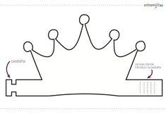 Ideas con goma eva para cumpleaños: coronas                                                                                                                                                                                 Más