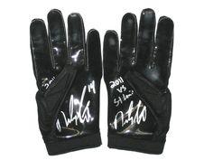 Riley Cooper Philadelphia Eagles Game Worn   Signed Opening Day Vs Rams  Nike Gloves Philadelphia Eagles 277eb1139