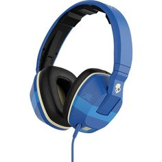 Skullcandy Crusher Headphones with Mic Ill Famed/Royal/Cream, One Size, Blue Skullcandy Headphones, Cute Headphones, Wireless Headphones, Beats Headphones, Headphone With Mic, Noise Cancelling Headphones, Metal Gear Solid, Tech Accessories, Ebay