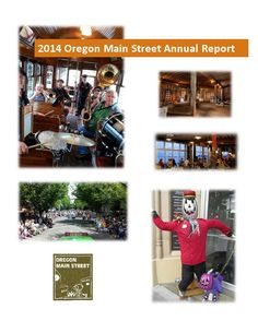 Annual report, by Oregon Main Street
