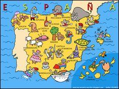 Me encanta escribir en español: Una tarjeta postal de España.