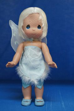 Periwinkle Tinker Bell's Fairy Friend Disney Precious Moments Doll Signed 5023 #VinylDoll