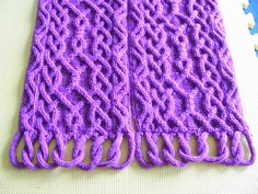 Ravelry: Puzzle Scarf III/17 - main pattern by Devorgilla's Knitting (sometimes...)
