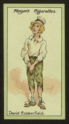 betsey trotwood david copperfield vintage cigarette cards joseph clayton clarke kyd david copperfield