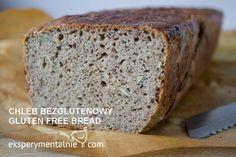 gluten-free bread Good Gluten Free Bread Recipe, Gluten Free Recipes, Bread Recipes, Cooking Recipes, Healthy Recipes, Free Food, Banana Bread, Food And Drink, Easy Meals